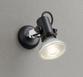 OG044112エクステリア LEDスポットライト 灯具のみ別売センサー対応 LED電球ビーム球形対応 非調光 防雨型オーデリック 照明器具 アウトドアライト 壁面・天井面取付兼用
