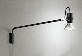 OG254199エクステリア LEDスポットライト 灯具のみ アーム1115mm 背面取付可能LED電球ビーム球形対応 非調光 防雨型オーデリック 照明器具 アウトドアライト