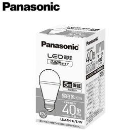 パナソニック Panasonic ランプLED電球 一般電球タイプ広配光タイプ 4.2W E26口金 電球40形・昼白色相当LDA4N-G/E/W