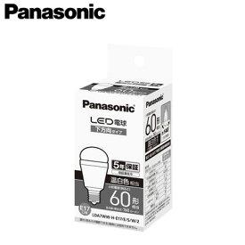 パナソニック Panasonic ランプLED電球 小形電球タイプ断熱材施工器具対応 下方向タイプ 7.1W E17口金 小形電球60形・温白色相当LDA7WW-H-E17/E/S/W/2