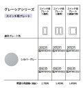 Panasonic 電設資材コスモシリーズ ワイド21配線器具スイッチプレ−トWTV6101S1
