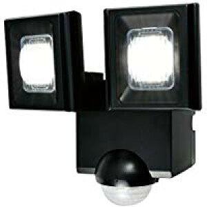 ESL-N112DC防雨形 屋外用LEDセンサーライトかんたん設置2灯 乾電池式ELPA朝日電器セキュリティ用品