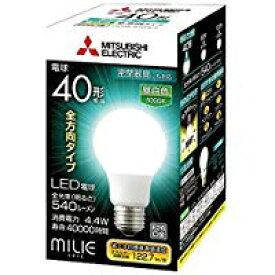 三菱電機 ランプLED電球 全方向タイプ一般電球40形 4.4W 昼白色LDA4N-G/40/S-A
