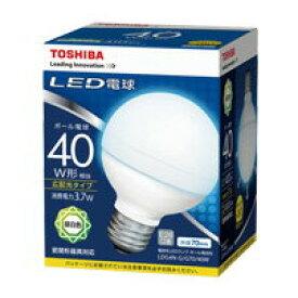 LDG4N-G/G70/40WLED電球 ボール電球形 3.7W40W形相当 昼白色 E26 外径70mmタイプ東芝ライテック ランプ