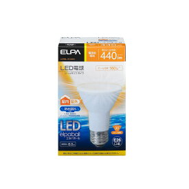 ELPA 朝日電器 LED電球エルパボール ビームタイプ 6.0W電球色相当 E26LDR6L-W-G053