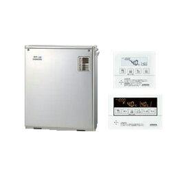 コロナ 石油給湯機器SAシリーズ(水道直圧式)給湯+追いだきタイプ UKBシリーズ 据置型 38.4kW屋外設置型 前面排気 ボイスリモコン付属 高級ステンレス外装UKB-SA380MX(MS)