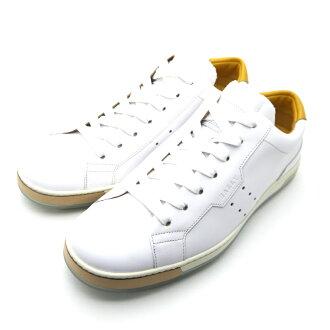 巴里/Bally人皮革运动鞋AINOR SNEAKER WHITE