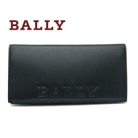 バリー/Bally メンズファスナー付き長財布 BALIRO.BOLD ブラック【即発送可能】