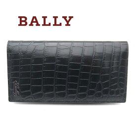 バリー/Bally メンズファスナー付き長財布 BALIRO.MS 20 ブラック【即発送可能】