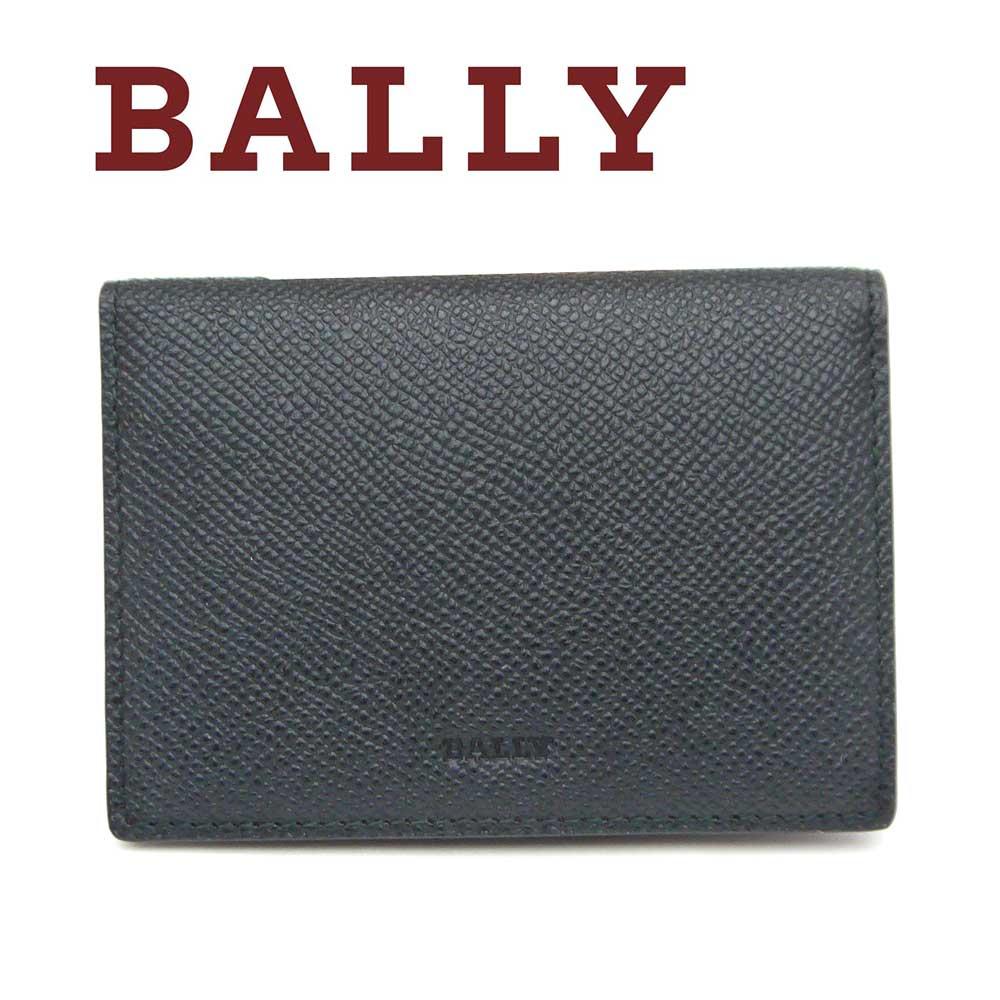 バリー/Bally 名刺入れカードケース BRIGADIERE BARDS.B ブラック×レッド【即発送可能】