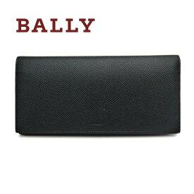 バリー/Bally ファスナー付長財布 BRIGADIERE BALIRO.B ブラック×レッド【即発送可能】