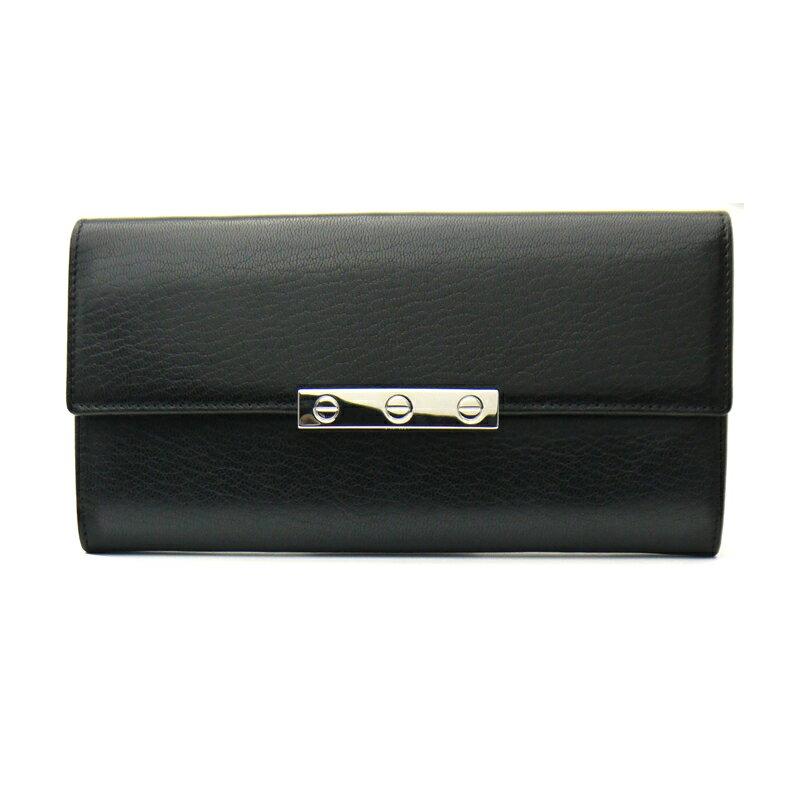 【新品】カルティエ/Cartier ファスナー付き長財布・ラブ LOVE ライン・L3001375 BLACK/ブラック【即発送可能】