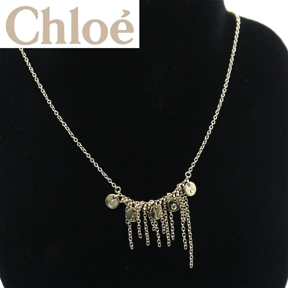 【新品】【即発送可能】クロエ/Chloe ネックレス・ライトゴールド 2O0575-CA1-097