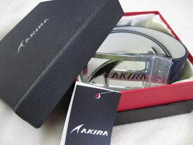 ☆アキラAKIRA・リバーシブル牛革ゴルフベルト&オリジナルドライバーヘッドカバー(セット)