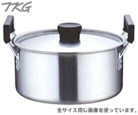 遠藤商事/TKG クラッド 実用鍋33cm AZT-5704 (電磁調理器対応・IH対応・両手鍋・業務用・厨房用品)02P30May15