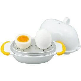 曙産業 レンジでらくチン!ゆでたまご2個用 RE-277 (日本製・電子レンジ対応・ゆで卵・AKEBONO・tg1903)
