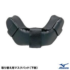 ミズノ(MIZUNO) 2ZQ347 取り替え用マスクパッド(下側) 25%OFF 野球用品 2019SS
