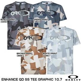 【あす楽対応】<メール便対応>OAKLEY(オークリー) FOA401589  ENHANCE QD SS TEE GRAPHIC 10.7 Tシャツ(半袖) 20%OFF 2020FW