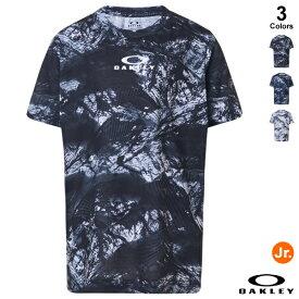 【あす楽対応】<メール便対応>OAKLEY(オークリー) FOA402447 ジュニア用Tシャツ(半袖) ENHANCE QD SS TEE GRAPHIC YTR 2.0 2021SS