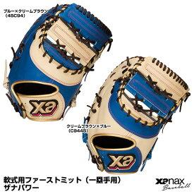【あす楽対応】ザナックス(xanax) BRF31021SP 軟式用ファーストミット(一塁手用) ザナパワー 左投げ用あり 15%OFF 野球用品 2021SS