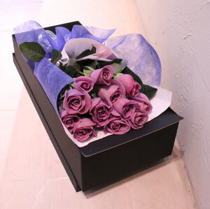 「Dozen APPLAUSE」ダズン アプローズ 母の日 記念日 アニバーサリー プロポーズ 誕生日 結婚 結婚記念日 青いバラ 12本 ブーケ 花束 花 プレゼント ギフト 花言葉 夢かな