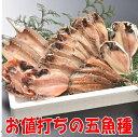 【送料込】お値打ち5種セット(沼津ひもの5魚種)