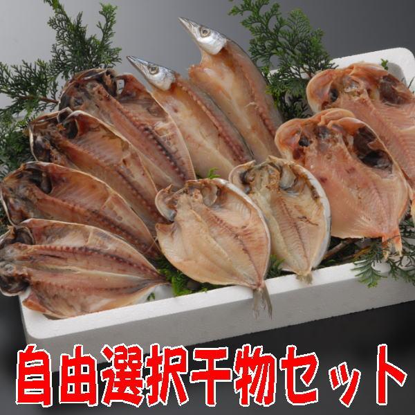【送料無料】沼津干物セット(天日干しひもの詰め合わせ)地引網セット(12種類の干物から10個チョイス)