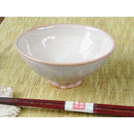 萩焼・紫めし茶碗(小)