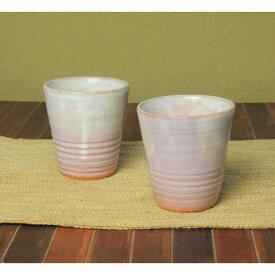 萩焼・紫フリーカップ[湯呑み]