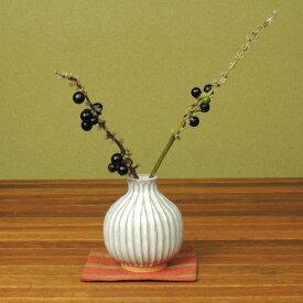 萩焼・しのぎミニ花瓶