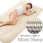 勝野式-三層構造マット,Moresleep,モアスリープ,布団-通気性-寝具-マットレス-シングル,体圧分散-分散マット-猛暑対策-寝汗,あせも-汗疹-対策,涼感,腰痛,床ずれ-防止