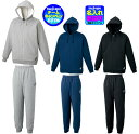 ◆5着以上注文刺繍無料◆【ASICS】アシックス スウェットシャツ/パンツ上下セット〔XB6009 XB7010〕※1着でも注文可