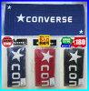 ◆メール便可◆【converse】コンバーススポーツタオル(フェイスタオル)〔CB111903〕
