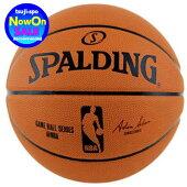 【SPALDING】スポルディングバスケットボール5号/NBAゲームボールレプリカ5号球〔83-042Z/83042Z〕