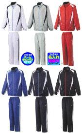◆1着刺繍可◆【zett】ゼット ウィンドブレーカージャケット/パンツ (ブレーカー上下セット/TEAM-Z)〔TEZ561S TES561P〕
