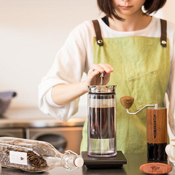 アメリカンプレスAMERICAN PRESSコーヒーがよりクリアで豊かな風味を抽出できます。