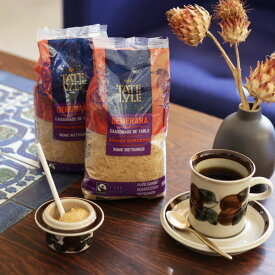 テート & ライルデメラーラ シュガー500g/袋さとうきび100% 英国王室御用達の砂糖 コーヒー 紅茶 製菓材料
