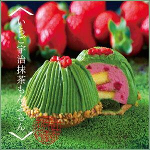 【季節限定】いちご宇治抹茶もんぶらん2個入り