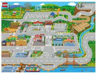 [yuu分組發送可]  tomika外出旅遊地圖