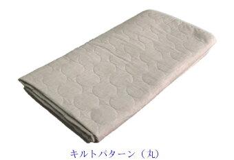 ガーゼと脱脂綿の快適寝具パシーマEX敷きパッド100*210シングル【1864】