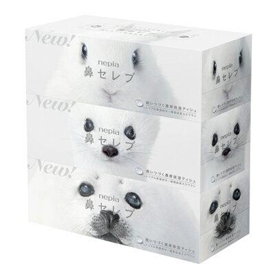 【法人・企業様限定販売】ネピア鼻セレブティッシュペーパー 200組3箱×10パック 00128