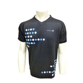 [ マラソン期間限定! ポイント10倍 ]【個人様購入可能】●代引き不可 DOUBLE3 メンズ (Mens) Vネックランニングシャツ エキップモデル(DW3266) ブラック サイズ(S〜LL) 50170