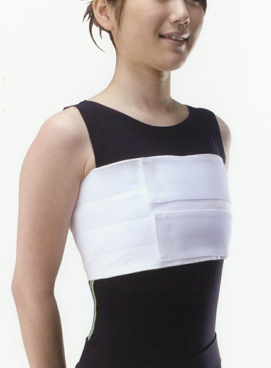 バストバンド サイズM〜L★クリックポストで送料無料★≪2分割胸部固定帯≫使い捨てタイプですが3週間くらい使えます