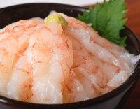 寿司屋で人気の天然お刺身大海老が訳あり特価!更にまとめ買いで増量中!