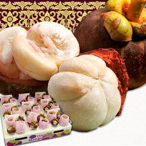 『生マンゴスチン』 タイ産 産地箱 4玉×9パック 計36玉 ※冷蔵 送料無料