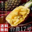 《送料無料》パイナップル 台農17号 台湾産 2玉 合計約2kg ※冷蔵 frt ☆
