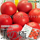『北の極 フルーツトマト』 北海道・下川町産 約700g(6〜12玉) ※冷蔵 ○