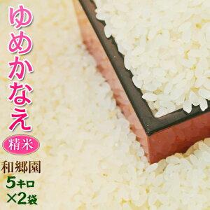 お米 米 10kg 送料無料 千葉県産 和郷園の低グルテリン米 低たんぱく米 ゆめかなえ 精米 令和元年度産米 5kg×2袋 白米 ご飯
