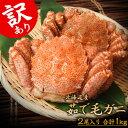 毛ガニ けがに ケガニ 北海道産 毛蟹 最高ランク堅蟹 訳あり2尾 合計1kg 大小コミ 冷凍