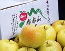 岩木山りんご生産出荷組合 葉とらず 黄色りんご『とき』青森県産 約3kg(7〜15玉入)ご家庭用 産地箱 ※常温 送料無料